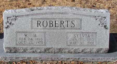 ROBERTS, W H - Lonoke County, Arkansas | W H ROBERTS - Arkansas Gravestone Photos