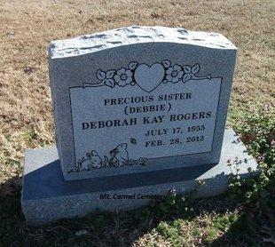 ROGERS, DEBORAH KAY - Lonoke County, Arkansas | DEBORAH KAY ROGERS - Arkansas Gravestone Photos