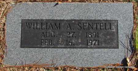 SENTELL, WILLIAM A - Lonoke County, Arkansas | WILLIAM A SENTELL - Arkansas Gravestone Photos