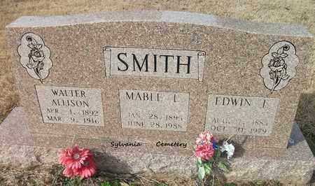 SMITH, WALTER ALLISON - Lonoke County, Arkansas | WALTER ALLISON SMITH - Arkansas Gravestone Photos