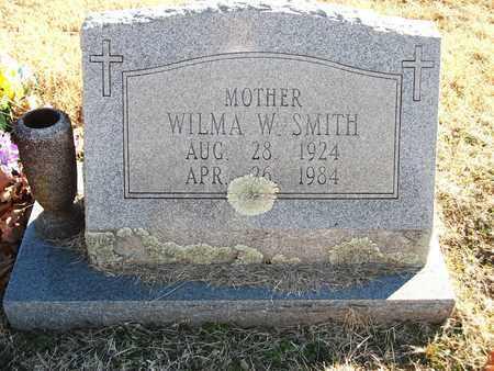 SMITH, WILMA W - Lonoke County, Arkansas   WILMA W SMITH - Arkansas Gravestone Photos
