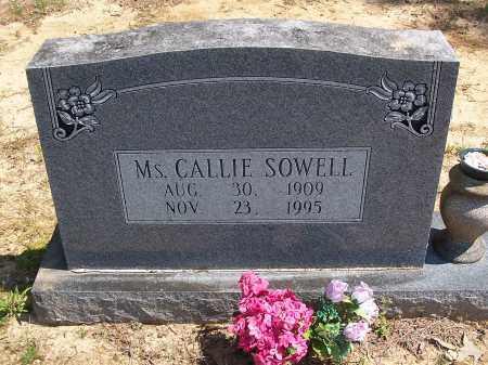 SOWELL, CALLIE - Lonoke County, Arkansas | CALLIE SOWELL - Arkansas Gravestone Photos