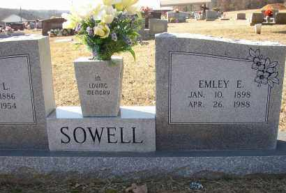 SOWELL, EMLEY E. - Lonoke County, Arkansas | EMLEY E. SOWELL - Arkansas Gravestone Photos
