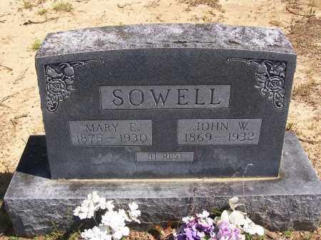 SOWELL, MARY E - Lonoke County, Arkansas | MARY E SOWELL - Arkansas Gravestone Photos