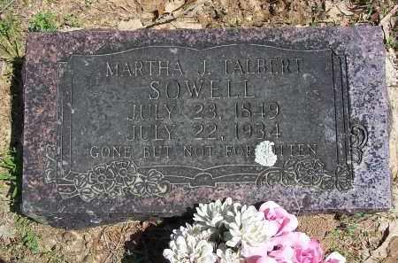 SOWELL, MARTHA J - Lonoke County, Arkansas | MARTHA J SOWELL - Arkansas Gravestone Photos