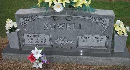SOWELL, RAYMOND CHESLEY - Lonoke County, Arkansas | RAYMOND CHESLEY SOWELL - Arkansas Gravestone Photos