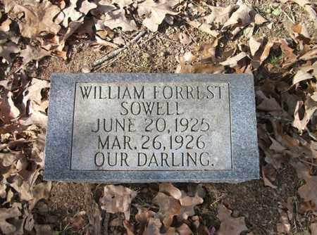 SOWELL, WILLIAM FORREST - Lonoke County, Arkansas | WILLIAM FORREST SOWELL - Arkansas Gravestone Photos