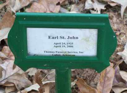 ST. JOHN, EARL - Lonoke County, Arkansas | EARL ST. JOHN - Arkansas Gravestone Photos