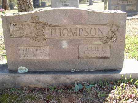 THOMPSON, LOUIE E. - Lonoke County, Arkansas | LOUIE E. THOMPSON - Arkansas Gravestone Photos