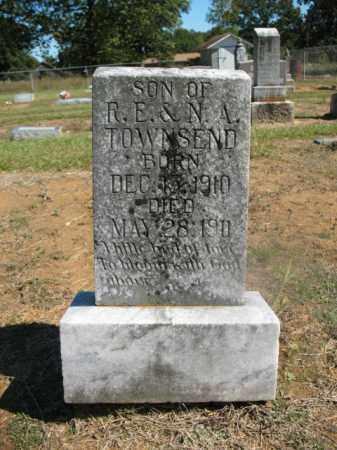 TOWNSEND, INFANT SON - Lonoke County, Arkansas | INFANT SON TOWNSEND - Arkansas Gravestone Photos