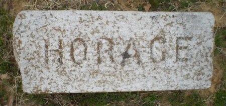 UNKNOWN, HORACE - Lonoke County, Arkansas | HORACE UNKNOWN - Arkansas Gravestone Photos