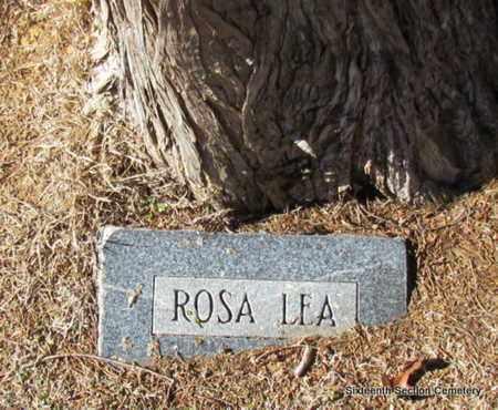 UNKNOWN, ROSA LEA - Lonoke County, Arkansas   ROSA LEA UNKNOWN - Arkansas Gravestone Photos