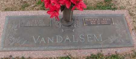 VANDALSEM, C.CLYDE - Lonoke County, Arkansas | C.CLYDE VANDALSEM - Arkansas Gravestone Photos