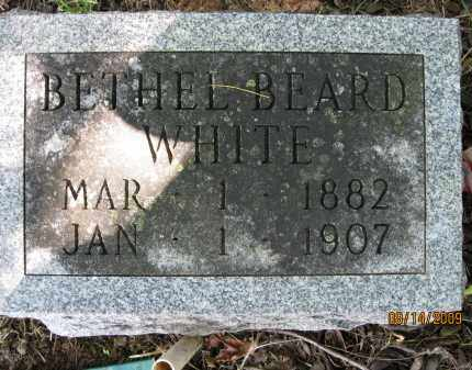 WHITE, BETHEL - Lonoke County, Arkansas | BETHEL WHITE - Arkansas Gravestone Photos