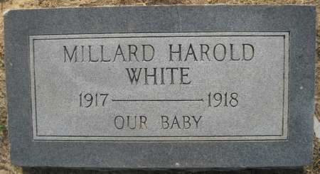 WHITE, MILLARD HAROLD - Lonoke County, Arkansas | MILLARD HAROLD WHITE - Arkansas Gravestone Photos