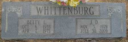 WHITTENBURG, J D - Lonoke County, Arkansas | J D WHITTENBURG - Arkansas Gravestone Photos