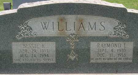 WILLIAMS, BESSIE K. - Lonoke County, Arkansas | BESSIE K. WILLIAMS - Arkansas Gravestone Photos