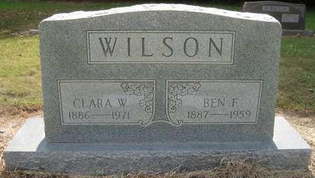 WILSON, BEN F - Lonoke County, Arkansas | BEN F WILSON - Arkansas Gravestone Photos