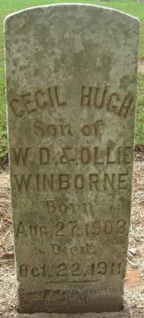 WINBORNE, CECIL HUGH - Lonoke County, Arkansas   CECIL HUGH WINBORNE - Arkansas Gravestone Photos