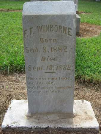 WINBORNE, F F - Lonoke County, Arkansas | F F WINBORNE - Arkansas Gravestone Photos