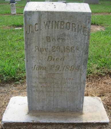 WINBORNE, J C - Lonoke County, Arkansas | J C WINBORNE - Arkansas Gravestone Photos