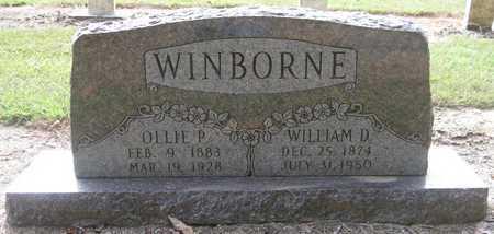 WINBORNE, WILLIAM D - Lonoke County, Arkansas   WILLIAM D WINBORNE - Arkansas Gravestone Photos
