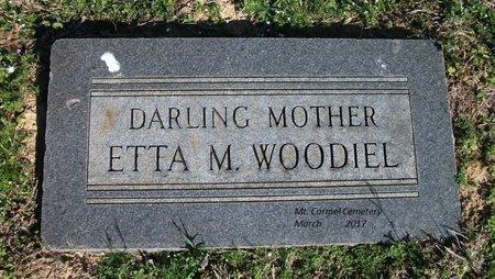 WOODIEL, ETTA M - Lonoke County, Arkansas | ETTA M WOODIEL - Arkansas Gravestone Photos
