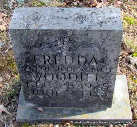 WOODIEL, FREDDA - Lonoke County, Arkansas | FREDDA WOODIEL - Arkansas Gravestone Photos