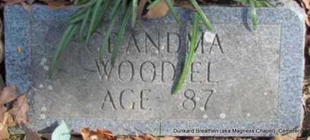 WOODIEL, GRANDMA - Lonoke County, Arkansas   GRANDMA WOODIEL - Arkansas Gravestone Photos