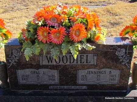 WOODIEL, JENNINGS B - Lonoke County, Arkansas   JENNINGS B WOODIEL - Arkansas Gravestone Photos
