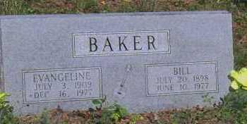 BAKER, BILL - Madison County, Arkansas | BILL BAKER - Arkansas Gravestone Photos