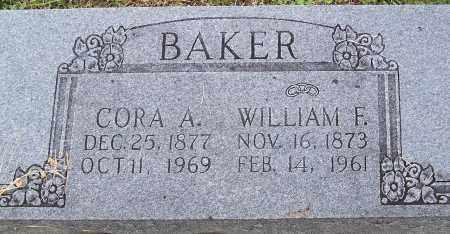 BAKER, CORA A. - Madison County, Arkansas | CORA A. BAKER - Arkansas Gravestone Photos