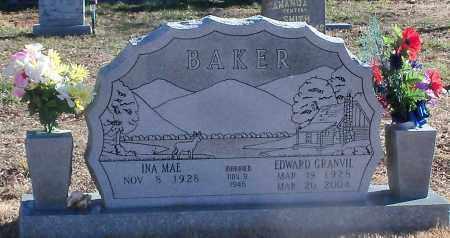 BAKER, EDWARD GRANVIL - Madison County, Arkansas   EDWARD GRANVIL BAKER - Arkansas Gravestone Photos