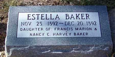 BAKER, ESTELLA - Madison County, Arkansas   ESTELLA BAKER - Arkansas Gravestone Photos