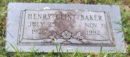 BAKER, HENRY CLINT - Madison County, Arkansas | HENRY CLINT BAKER - Arkansas Gravestone Photos
