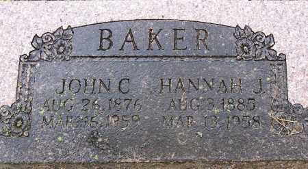 BAKER, JOHN COLUMBUS - Madison County, Arkansas | JOHN COLUMBUS BAKER - Arkansas Gravestone Photos