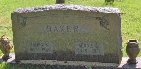 BAKER, MINNIE J - Madison County, Arkansas | MINNIE J BAKER - Arkansas Gravestone Photos