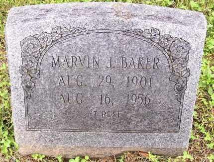 BAKER, MARVIN J. - Madison County, Arkansas   MARVIN J. BAKER - Arkansas Gravestone Photos