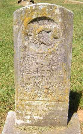 BAKER, MARTHA JANE - Madison County, Arkansas | MARTHA JANE BAKER - Arkansas Gravestone Photos
