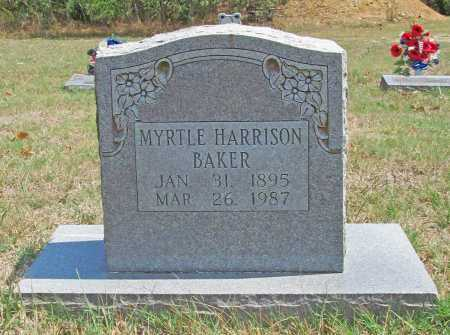 BAKER, MYRTLE - Madison County, Arkansas | MYRTLE BAKER - Arkansas Gravestone Photos