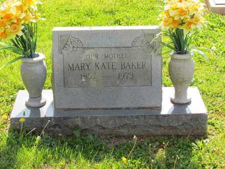 BAKER, MARY KATE - Madison County, Arkansas | MARY KATE BAKER - Arkansas Gravestone Photos