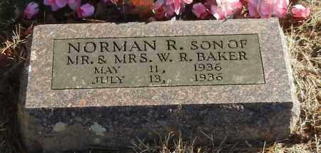 BAKER, NORMAN R - Madison County, Arkansas | NORMAN R BAKER - Arkansas Gravestone Photos