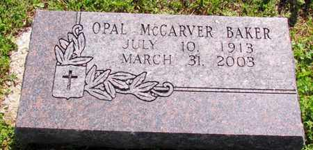 BAKER, OPAL INEZ - Madison County, Arkansas | OPAL INEZ BAKER - Arkansas Gravestone Photos