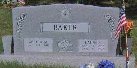 BAKER, RALPH E - Madison County, Arkansas | RALPH E BAKER - Arkansas Gravestone Photos