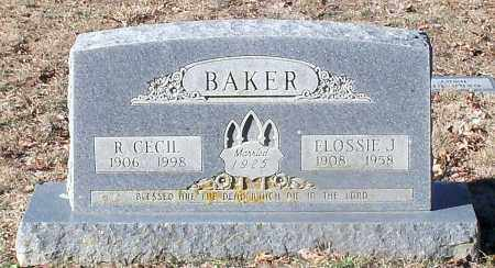BAKER, ROBERT CECIL - Madison County, Arkansas | ROBERT CECIL BAKER - Arkansas Gravestone Photos