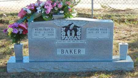 BAKER, WILMA FRANCIS - Madison County, Arkansas | WILMA FRANCIS BAKER - Arkansas Gravestone Photos