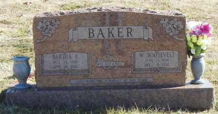 BAKER, BERTHA E - Madison County, Arkansas | BERTHA E BAKER - Arkansas Gravestone Photos