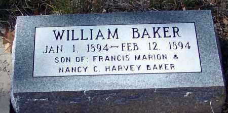 BAKER, WILLIAM - Madison County, Arkansas | WILLIAM BAKER - Arkansas Gravestone Photos