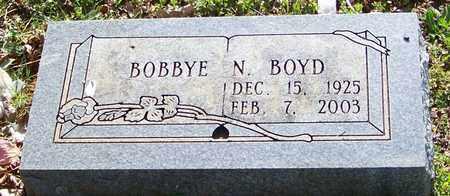 BOYD, BOBBYE N - Madison County, Arkansas | BOBBYE N BOYD - Arkansas Gravestone Photos