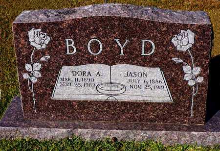 BOYD, DORA A. - Madison County, Arkansas   DORA A. BOYD - Arkansas Gravestone Photos